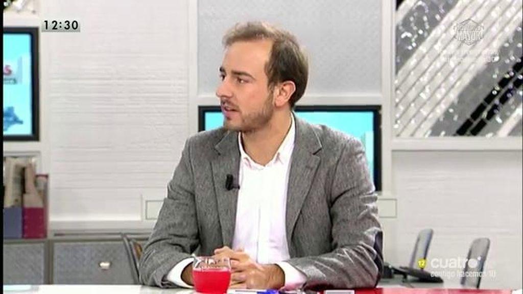 """Javier Dorado cree """"prudente"""" que el gobierno espere para decidir sobre Siria"""