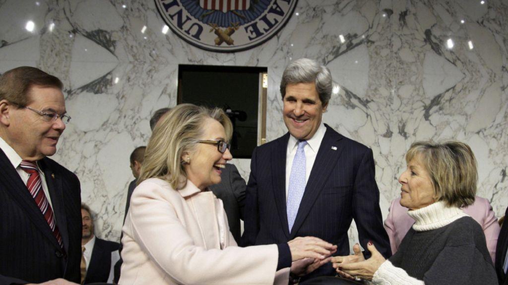 John Kerry, confirmado como nuevo Secretario de Estado por el Senado de EEUU
