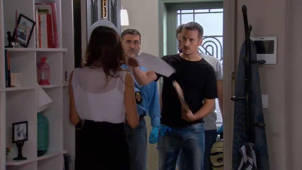 La policía registra la casa de Sergio Feo