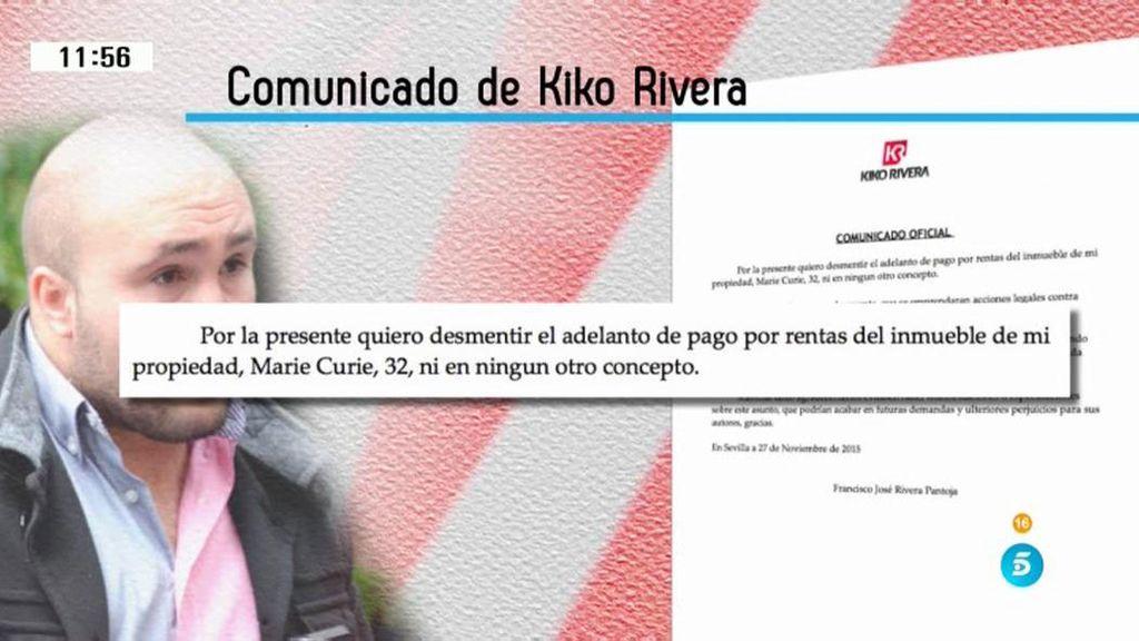 Kiko Rivera niega haber recibido algún pago por el alquiler de su duplex