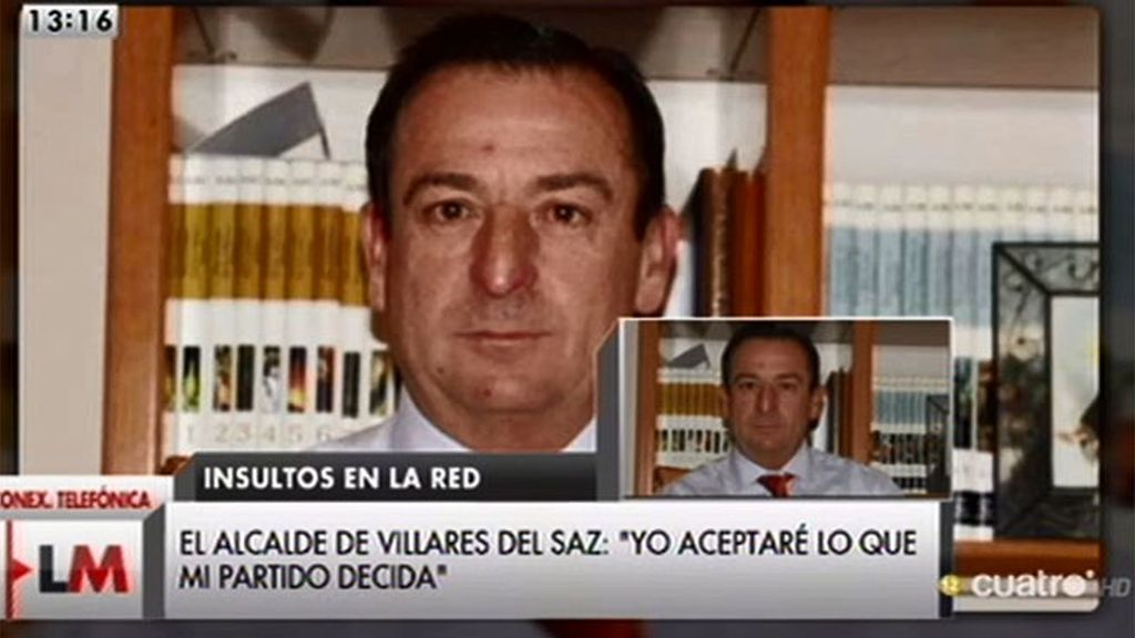 """José Luis Valladolid, alcalde de Villares del Saz niega ser machista: """"Tengo 11 mujeres en el ayuntamiento"""""""