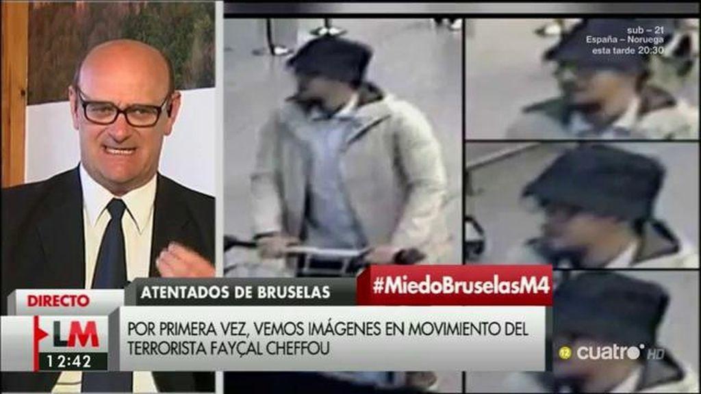 """José María Gil Garre: """"El Estado belga está ausente dentro de su propio territorio"""""""