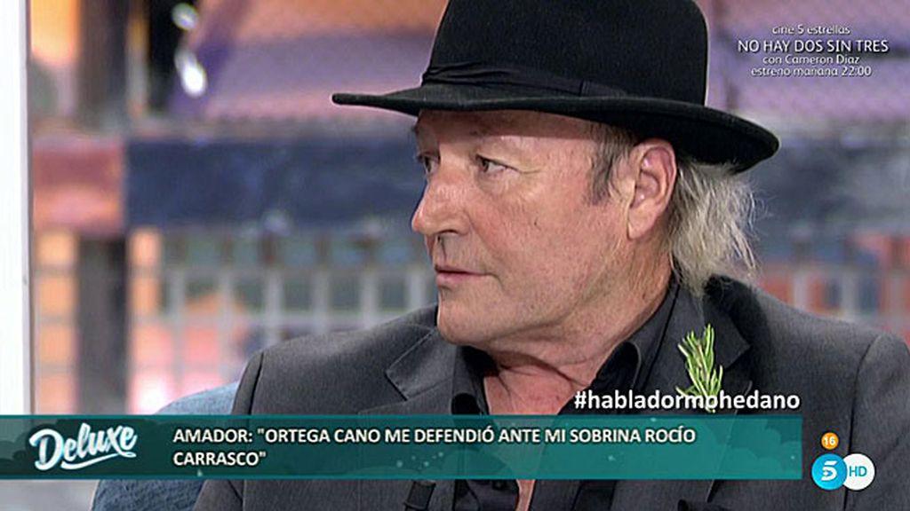 """Amador Mohedano: """"José Ortega Cano no quiere en absoluto a Rocío Carrasco"""""""