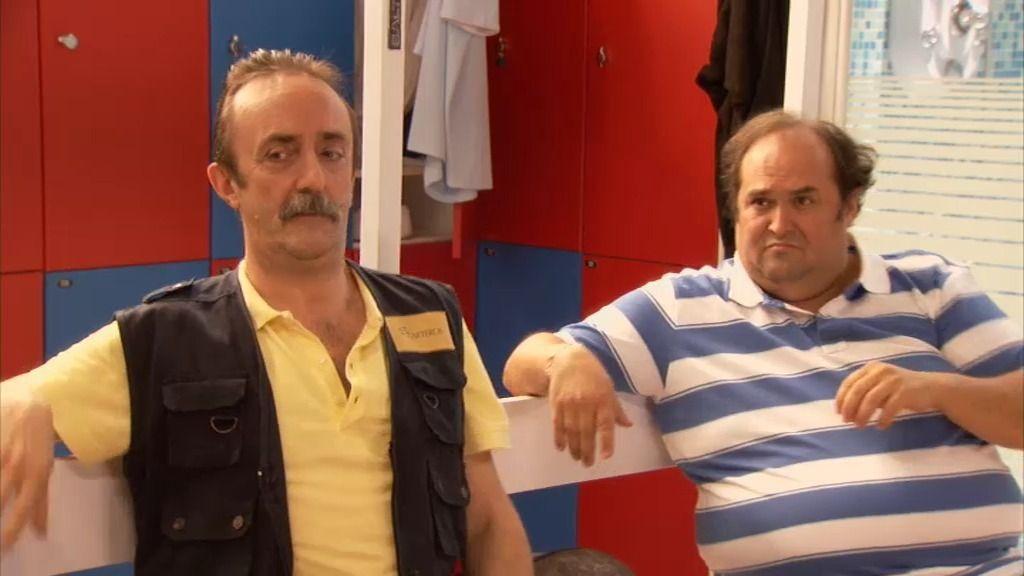 Miguelón y Velasco no mezclan en su dieta: primero el melón y luego el bocata de jamón
