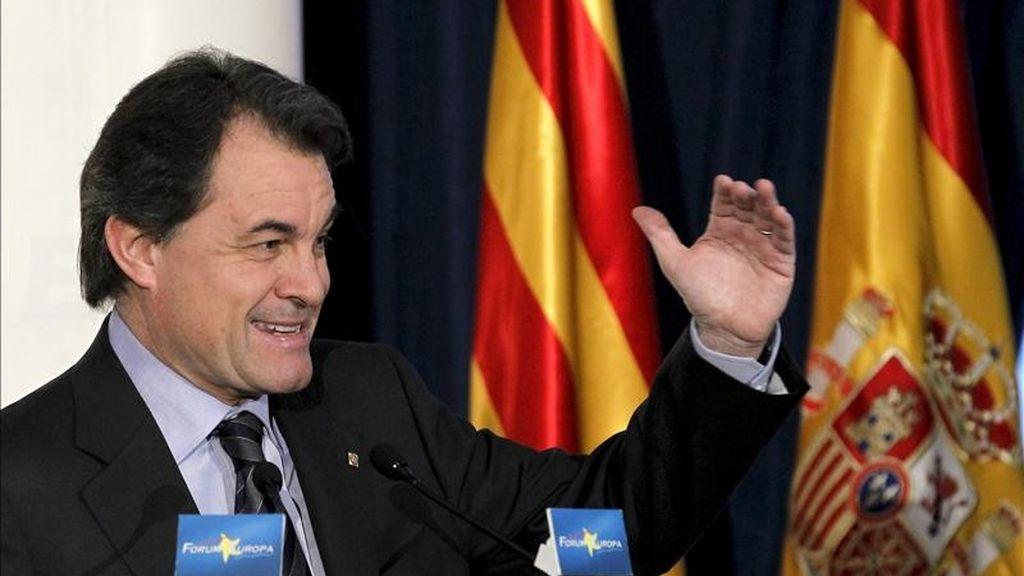 El presidente de la Generalitat de Cataluña, Artur Mas. EFE/Archivo