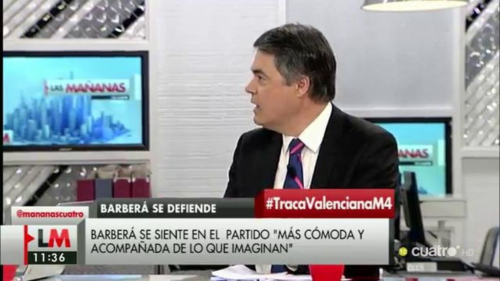 """Carlos Rojas: """"El PP apoya que Rita Barberá ejerza su derecho a defenderse"""""""