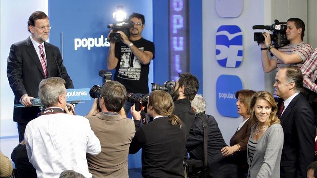 El presidente del PP, Mariano Rajoy. EFE/Archivo