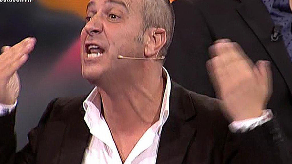 "Víctor, sobre Coman: ""No está concursando, está interpretando"""