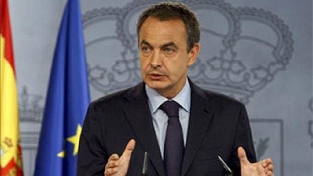 Imagen de archivo del presidente del Gobierno en el Palacio de Moncloa. Foto: EFE.