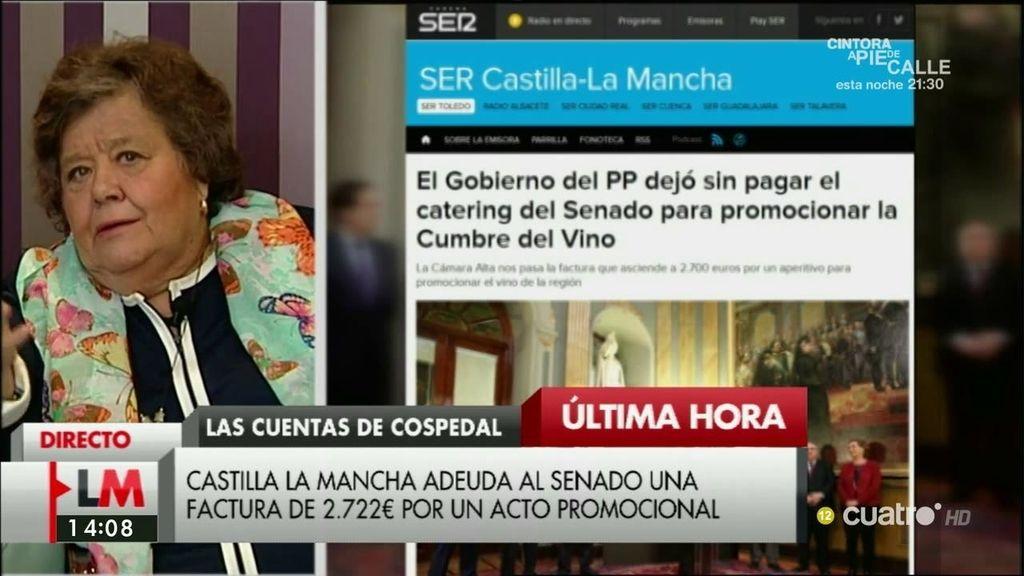 """Ameida comenta el 'sinpa' de Cospedal en el Senado: """"Hay que crear un consorcio"""""""