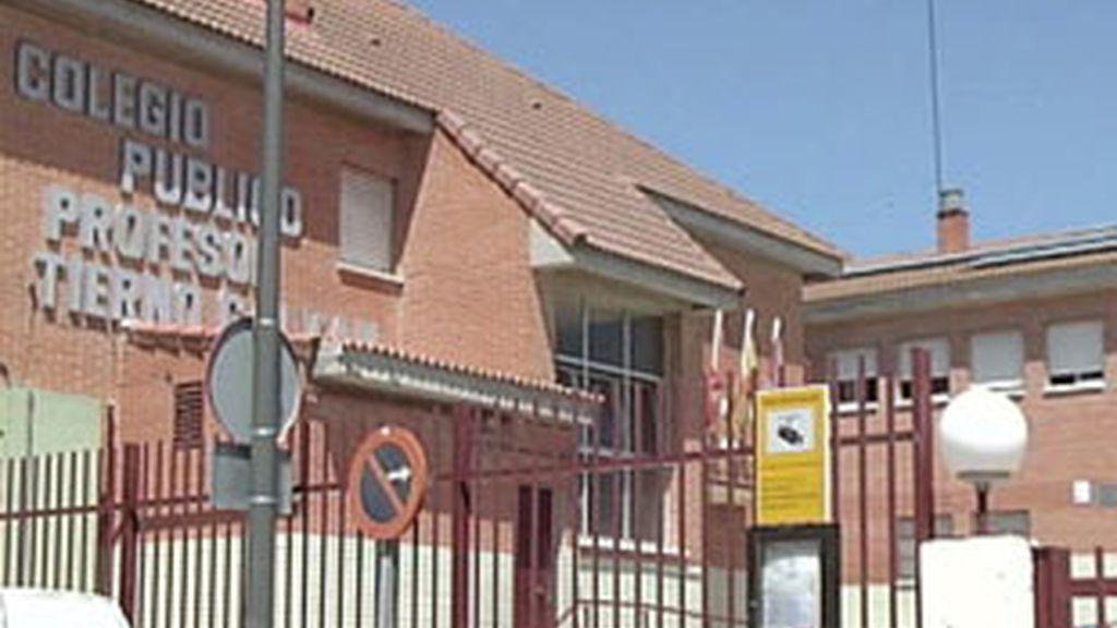 El colegio Tierno Galván de Alcobendas.