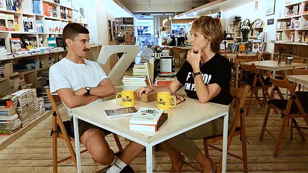"""Andrés: """"Leí 'La montaña mágica' con 16 años: aprendí cosas que no debía saber"""""""