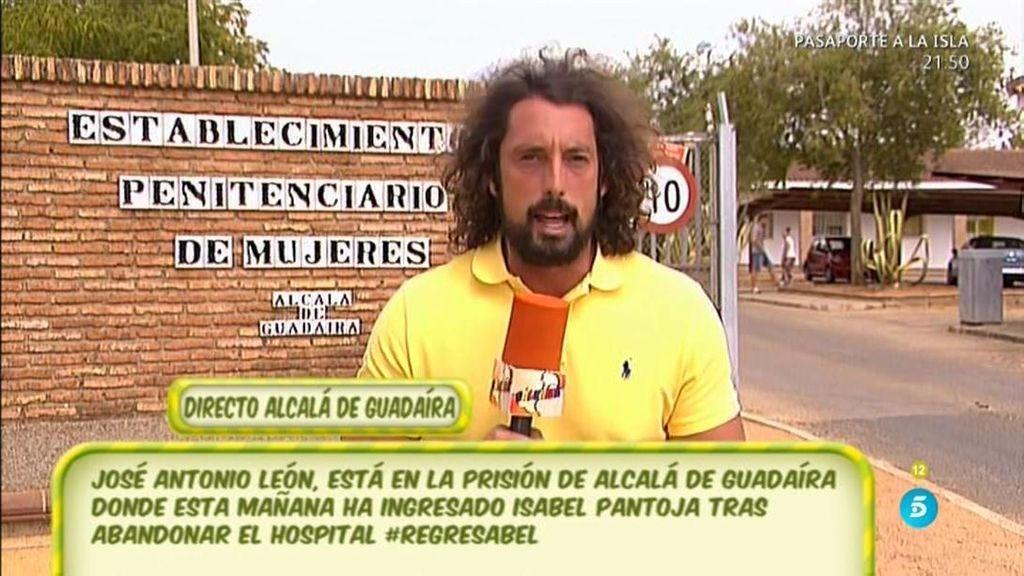 """José Antonio León, de Isabel Pantoja: """"Estaba un poquito más delgada"""""""
