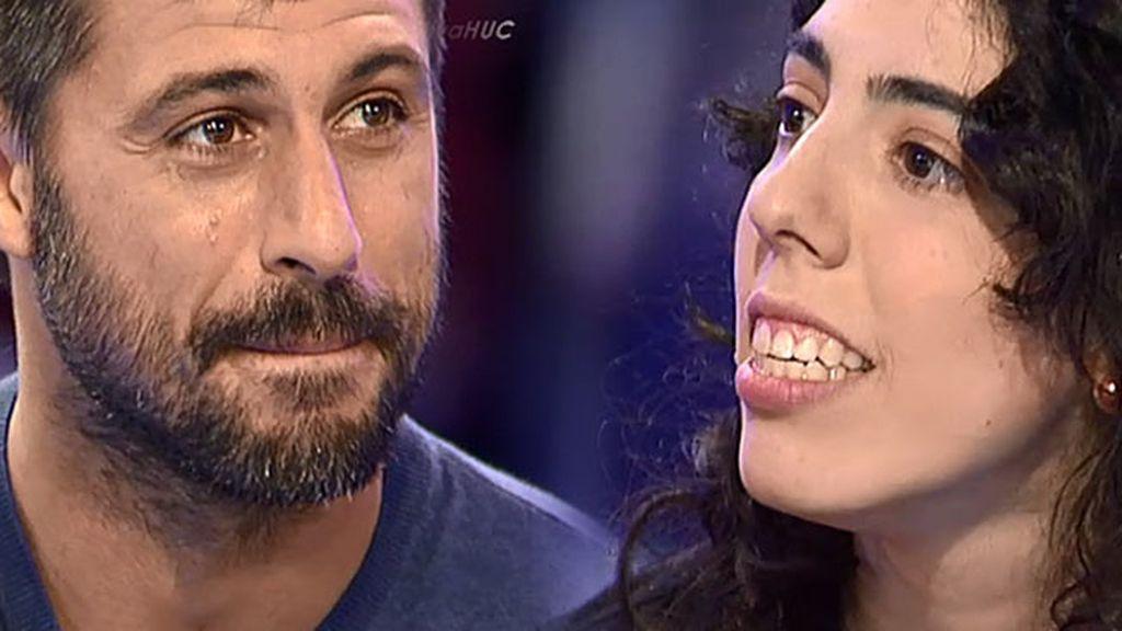 """Hugo Silva, a Cintia una fan muy especial: """"Gracias, de corazón"""""""