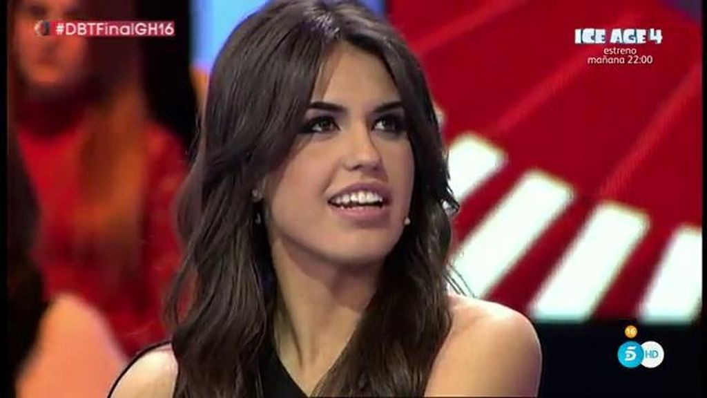 """Sofía, sobre Ricky: """"Claro que me gusta, ya lo dije en su momento"""""""
