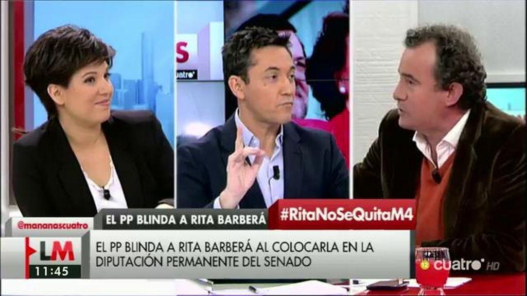 """Talegón: """"Si quieres generar estabilidad ¿Qué haces protegiendo de así a Rita Barberá?"""""""
