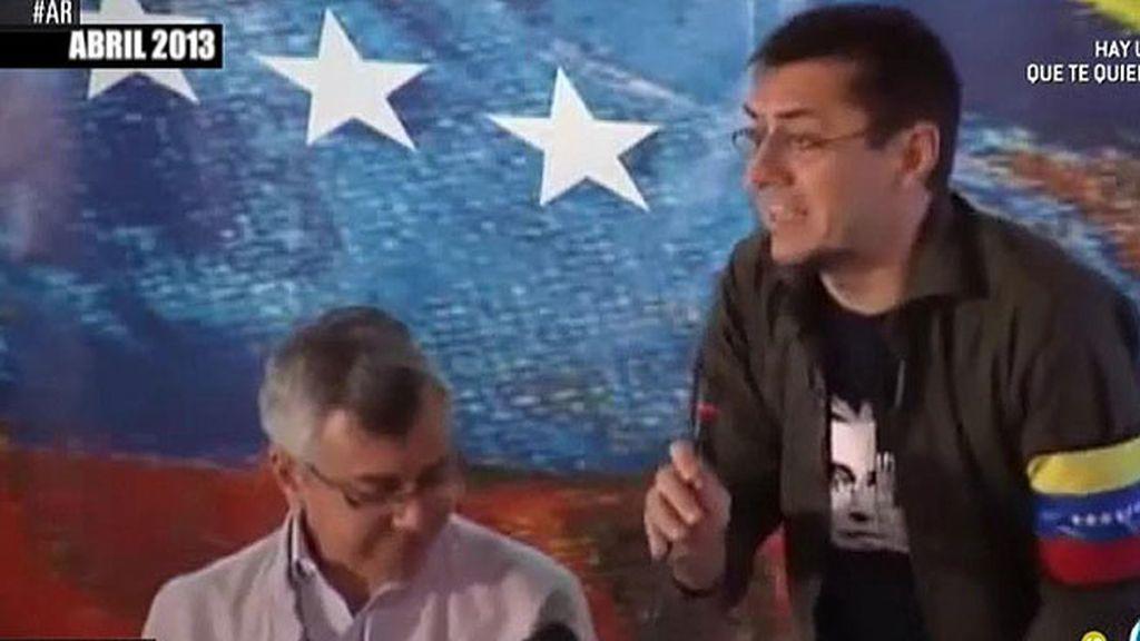 Monedero elogia a Chávez