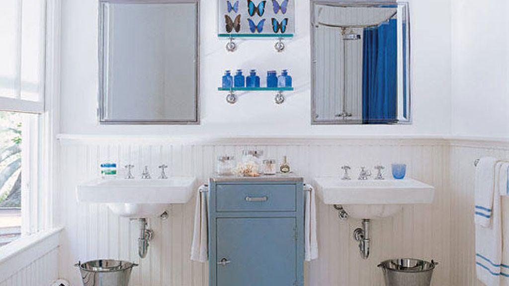 El baño de la casa de campo de Sarah Jessica Parker