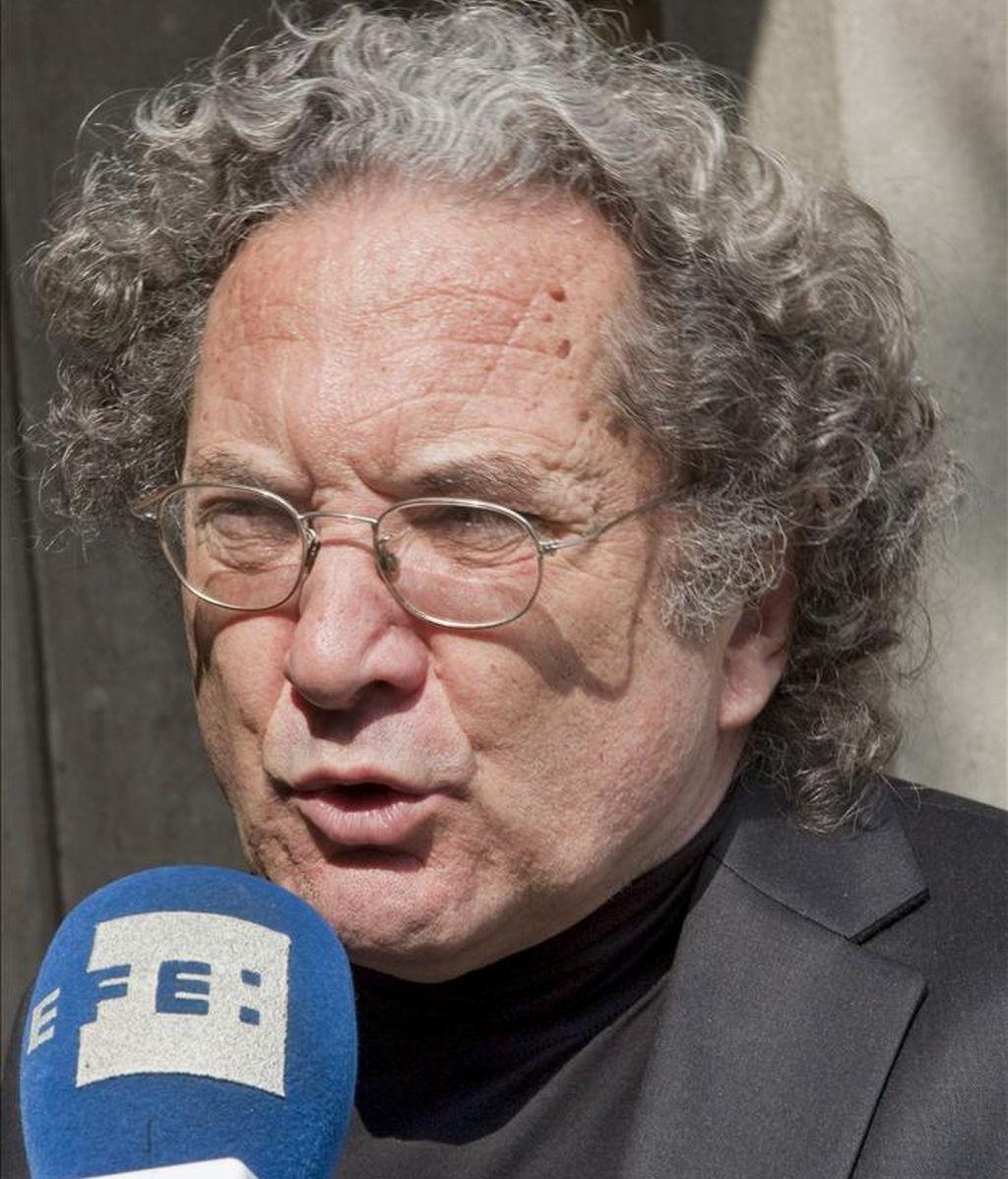 El escritor argentino Ricardo Piglia, candidato al Premio de la Crítica. EFE/Archivo