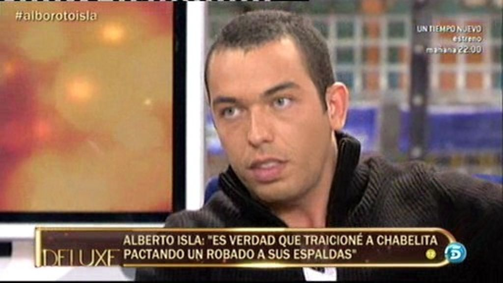 """Alberto Isla: """"Sí, pacté un robado a espaldas de Chabelita en Asturias"""""""