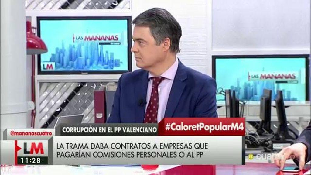 """Carlos Rojas (PP): """"Que el Estado de derecho actúe sobre todo, caiga quien caiga"""""""