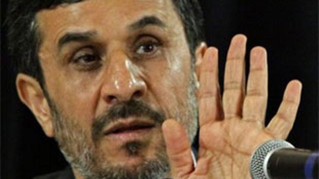 Imagen de archivo del presidente de Irán, Mahmud Ahmadineyad. Foto: AP.
