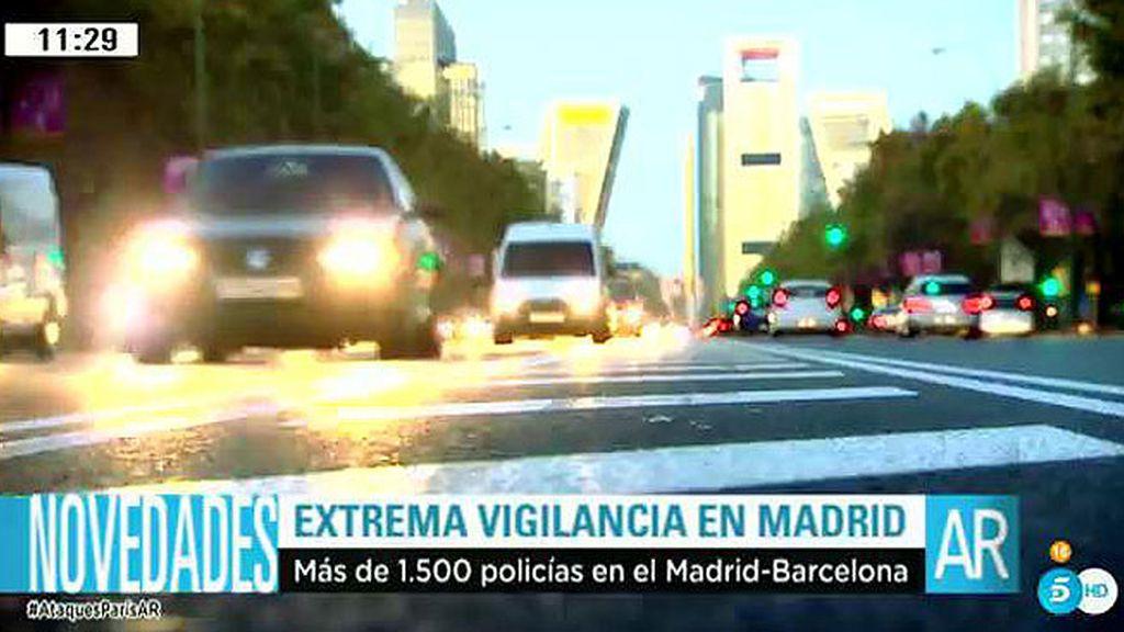 La ciudad de Madrid extrema la vigilancia tras las falsas amenazas de bomba