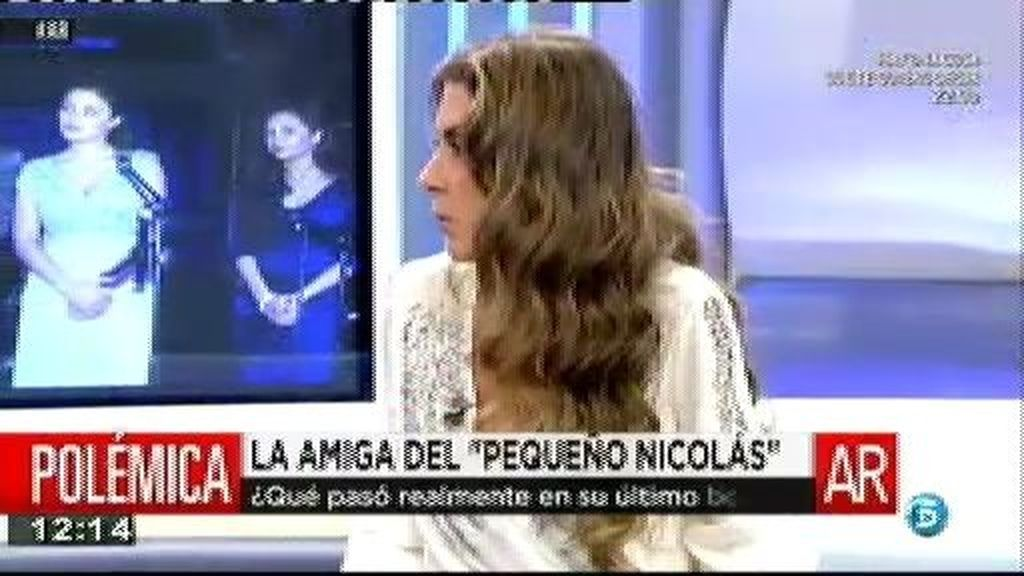 Isabel Mateos asegura que se sentía acosada por Nacho Valbuena
