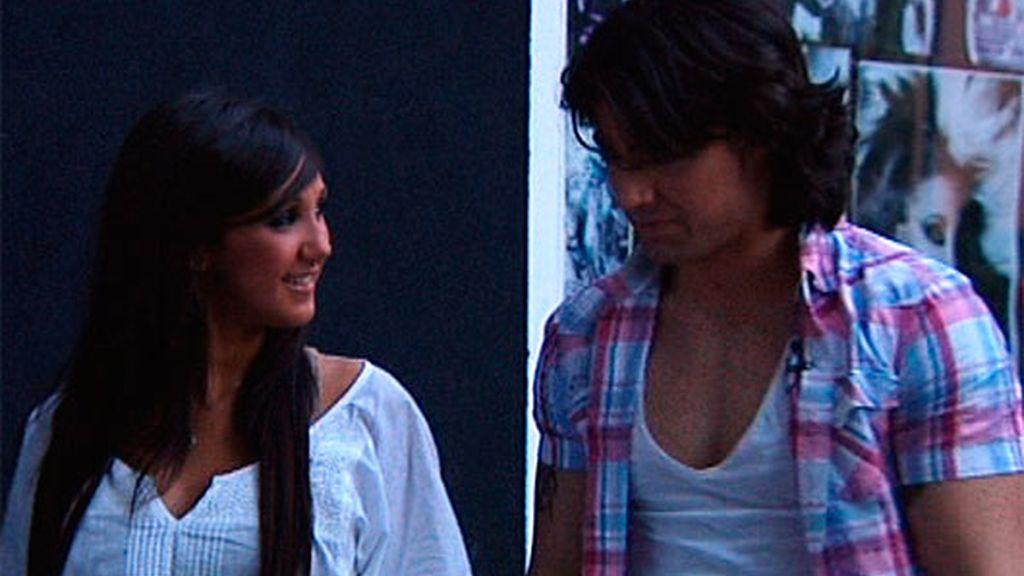 Reche y Laura (25/04/11)