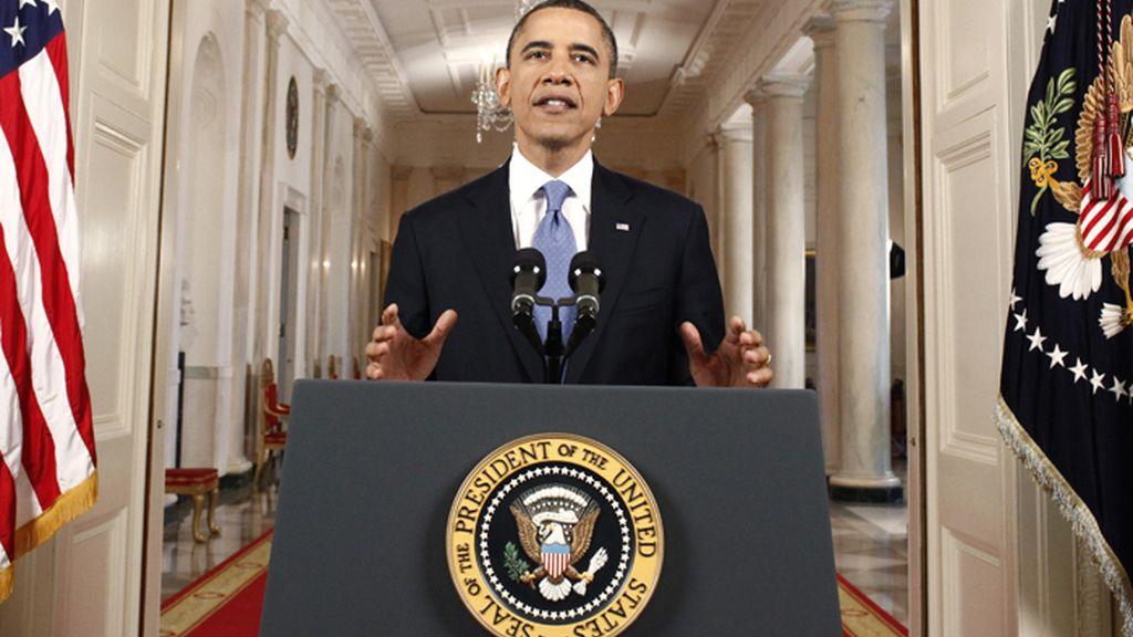 Discurso de Barack Obama tras el fallo del Tribunal Supremo declarando constitucional su reforma sanitaria
