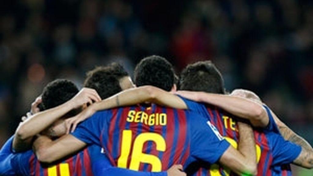 El Barça no se ha frenado ante L'Hospitalet C.E, Foto: Reuters.