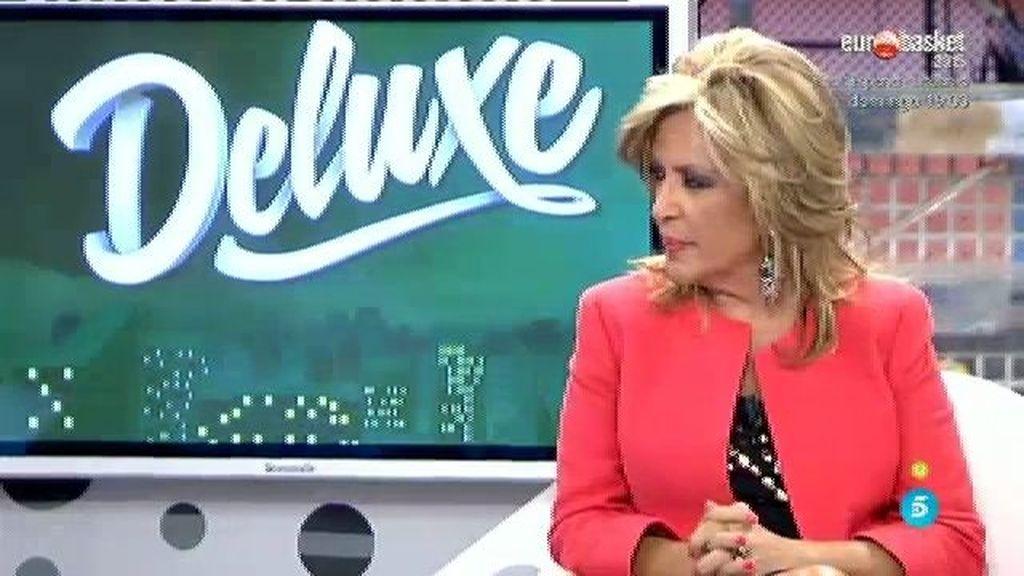"""Lydia Lozano: """"Cada vez tengo menos peso en 'Sálvame' y en el 'Deluxe' por mi culpa"""""""