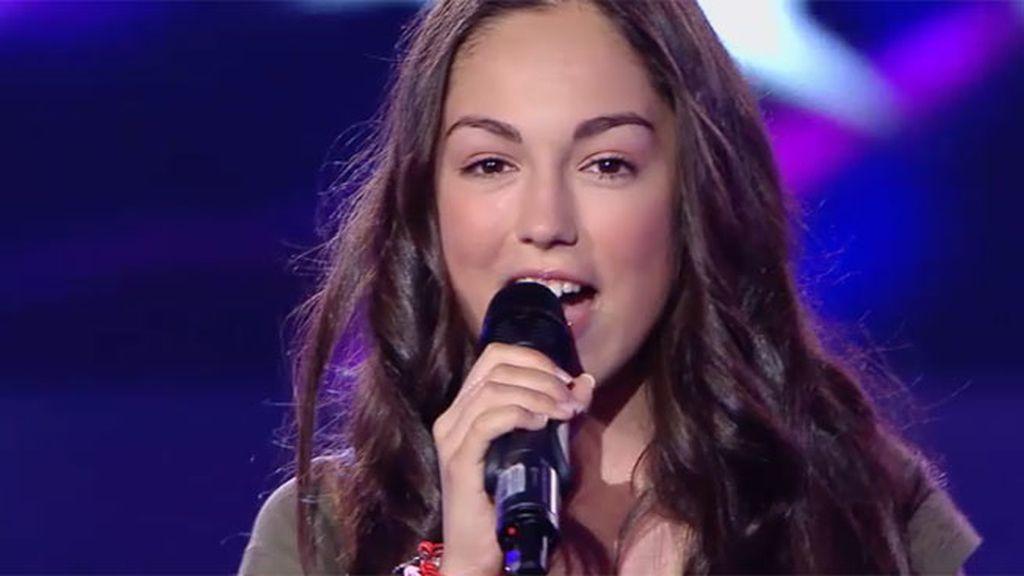 Maria Parrado canta 'Quien cambia soy yo'