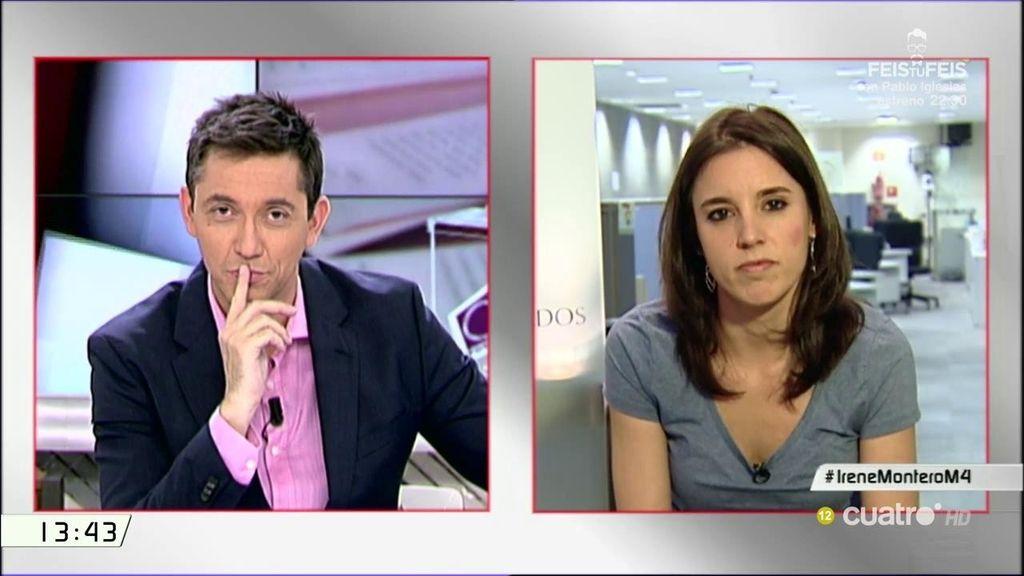 """Montero, sobre el PP: """"Usaban las instituciones no contra un partido, que es grave, sino contra los españoles"""""""