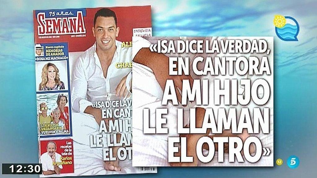 """Alberto Isla: """"Isa dice la verdad, en Cantora, a mi hijo le llaman el otro"""""""