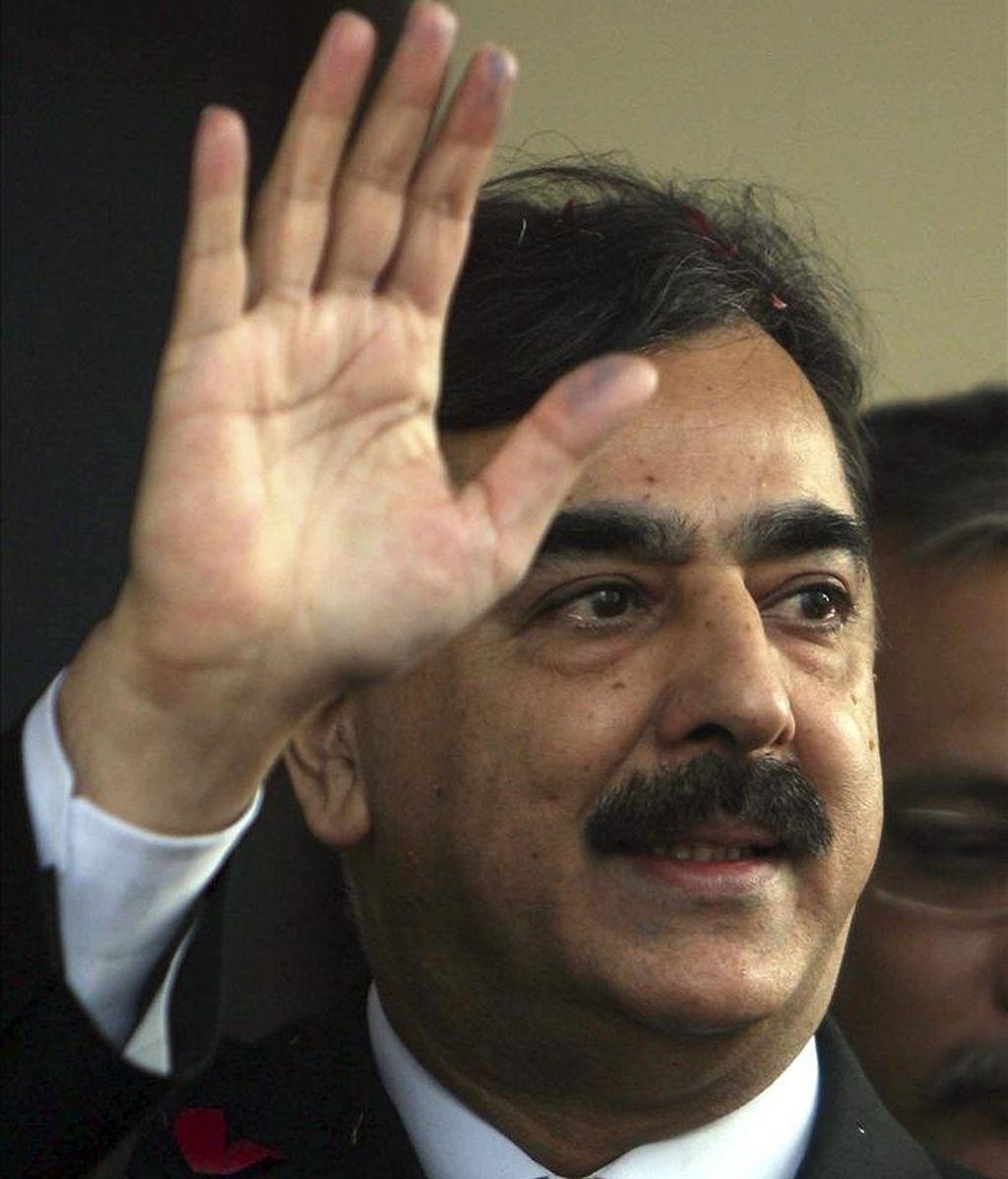 El primer ministro paquistaní, Yusuf Razá Guilani. EFE/Archivo