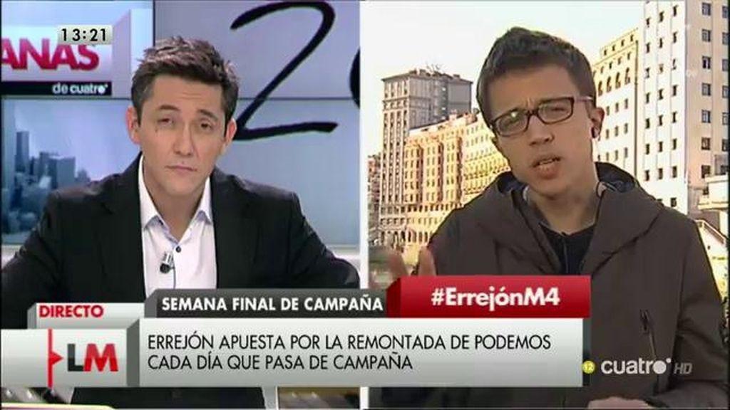 La entrevista completa de Íñigo Errejón