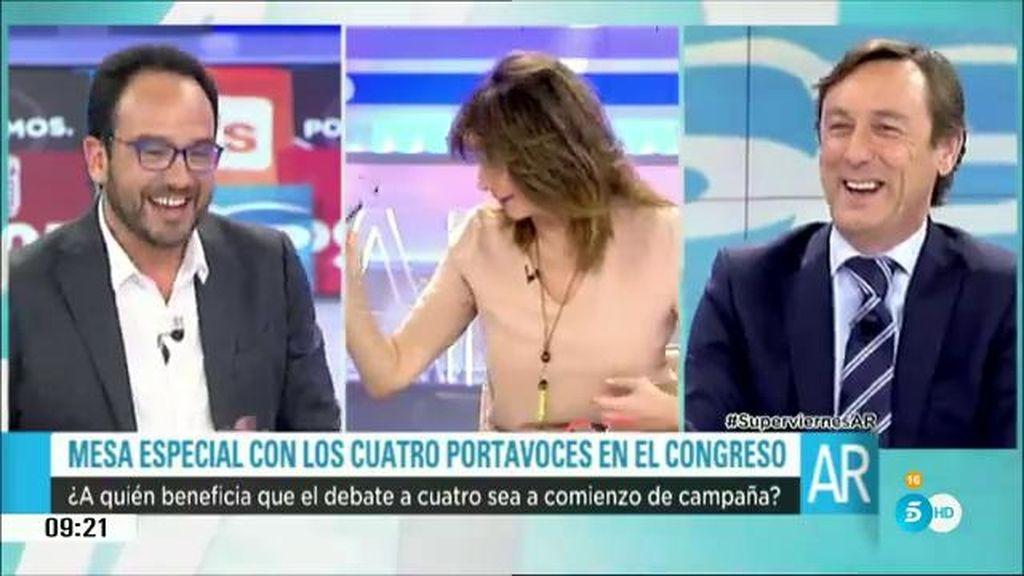 """Antonio Hernando: """"Si el día del debate hay partido, Mariano Rajoy no irá"""""""