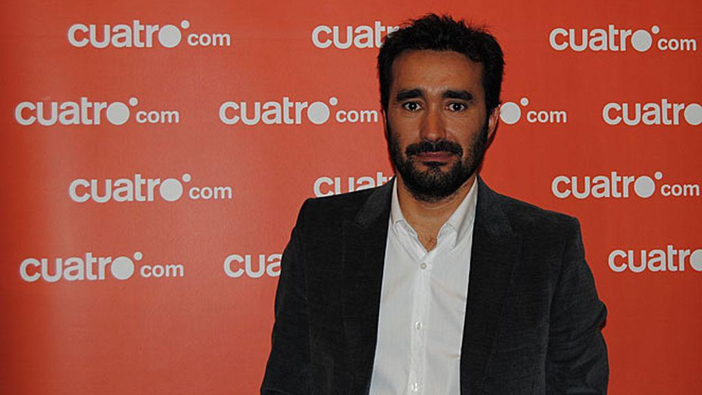 Juanma Castaño visita cuatro.com