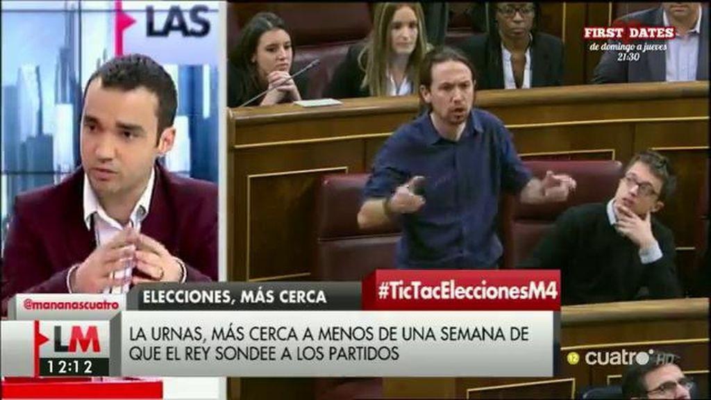 """Pablo Yáñez (C's): """"Queda una semana y Rajoy decide si nos condena a nuevas elecciones o si se sienta a negociar"""""""