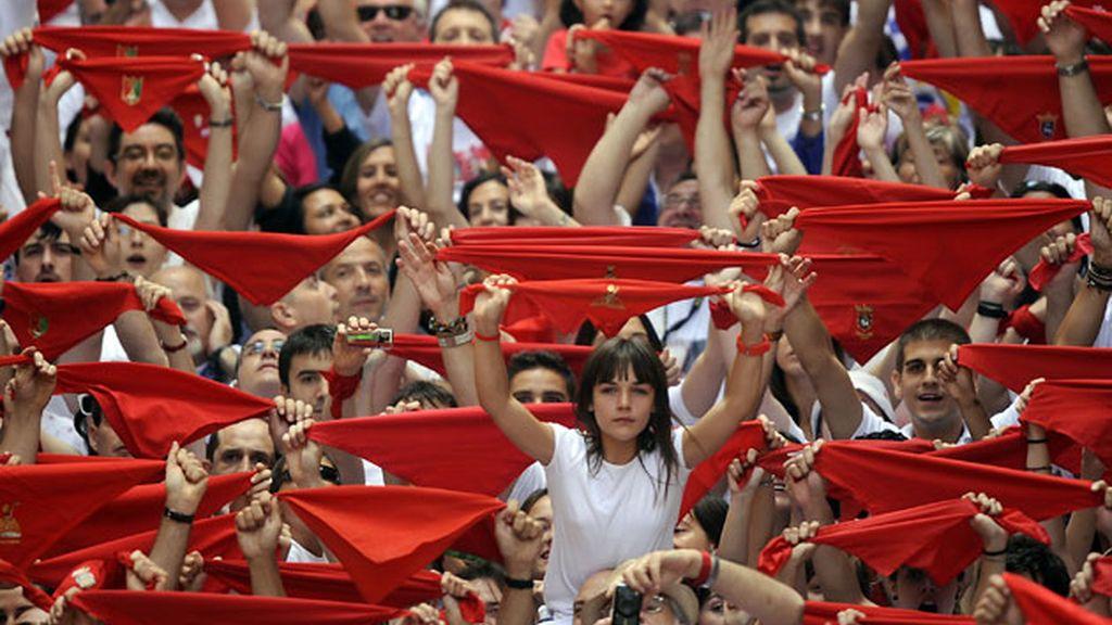 Los sanfermines 2011 arrancan con el tradicional chupinazo