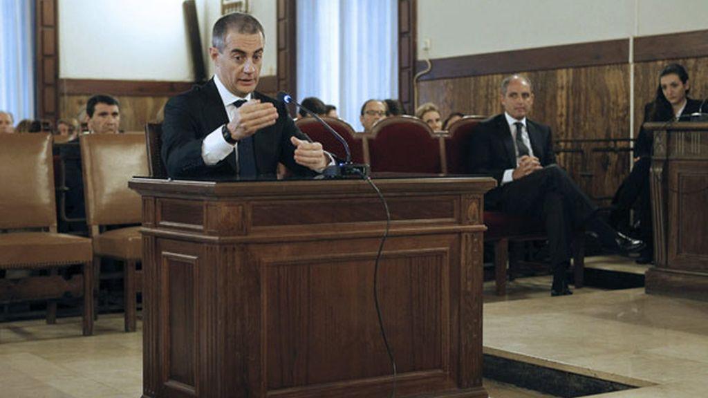 Ricardo Costa ante el tribunal que le juzga