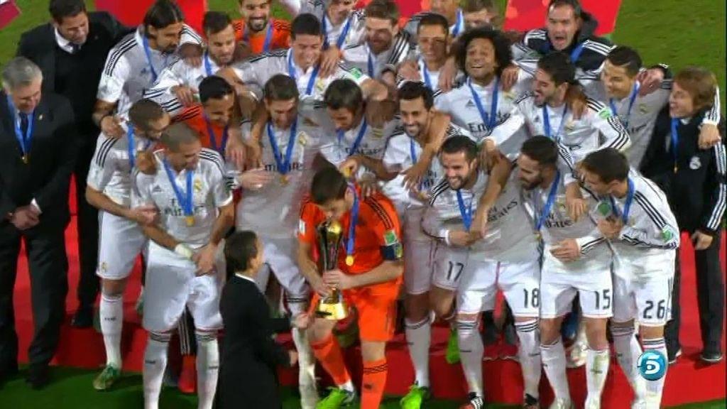 El Real Madrid levanta en Marruecos su primer Mundialito de clubes