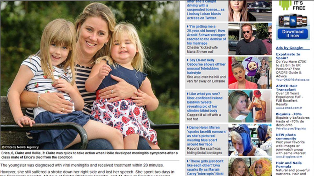 Una madre británica salva su hija gracias a las indicaciones de una aplicación de su móvil