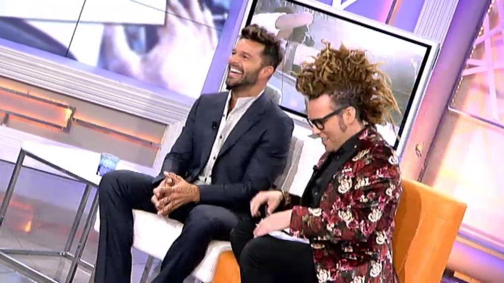 Ricky Martin demuestra a Torito que conoce muy bien a sus amigos