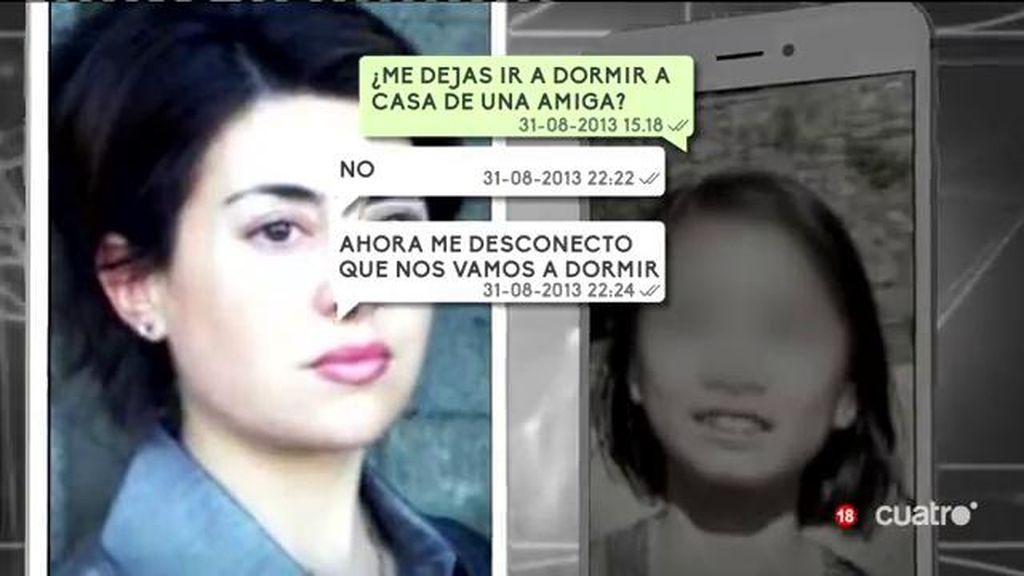 En exclusiva el intercambio de mensajes entre Rosario Porto y Asunta dias antes del crimen