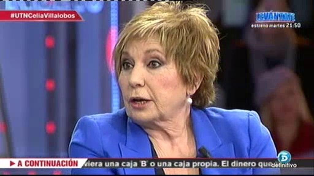 """Celia Villalobos: """"¡Estamos hasta las narices de gente como Luis Bárcenas!"""""""