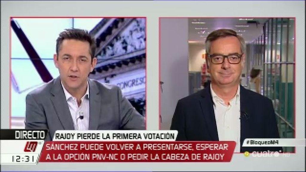 """José M. Villegas: """"Teníamos que elegir entre lo malo y lo menos malo"""""""
