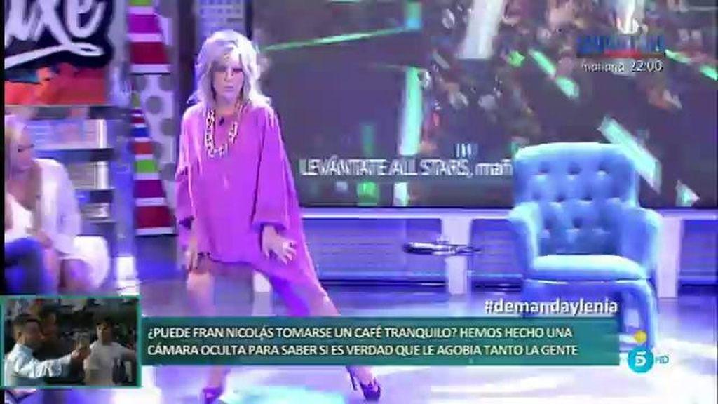 ¡Lydia Lozano se atreve con el Gangnam Style en 'Deluxe'!