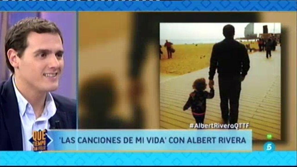 """Albert Rivera: """"Lo mejor que me ha pasado en la vida es mi hija Daniela"""""""
